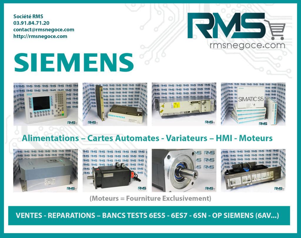 SIEMENS - SIEMENS SINUMERIK - SINUMERIK 840 D - RMSNEGOCE