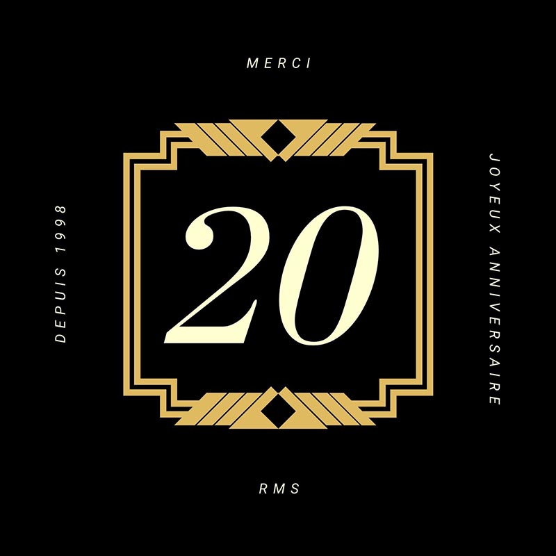 RMS fête ses 20ans