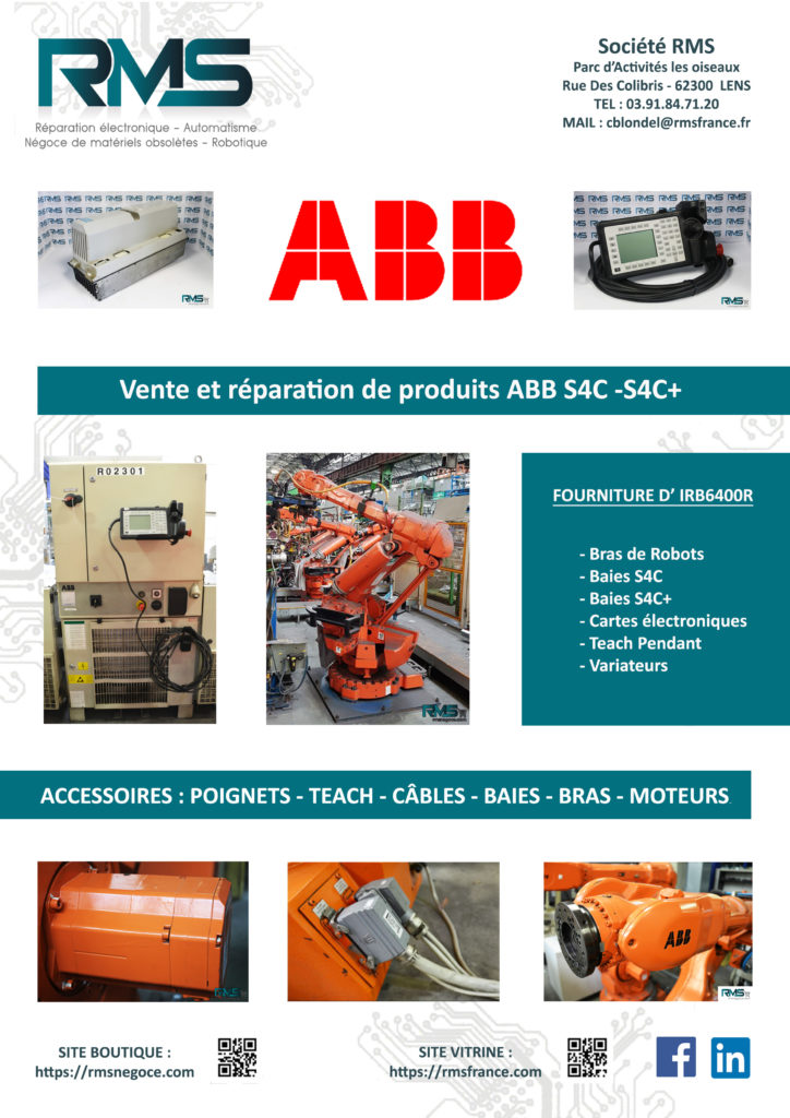 ABB - ROBOT ABB - IRB6400 - IRB6400R ABB - RMSNEGOCE