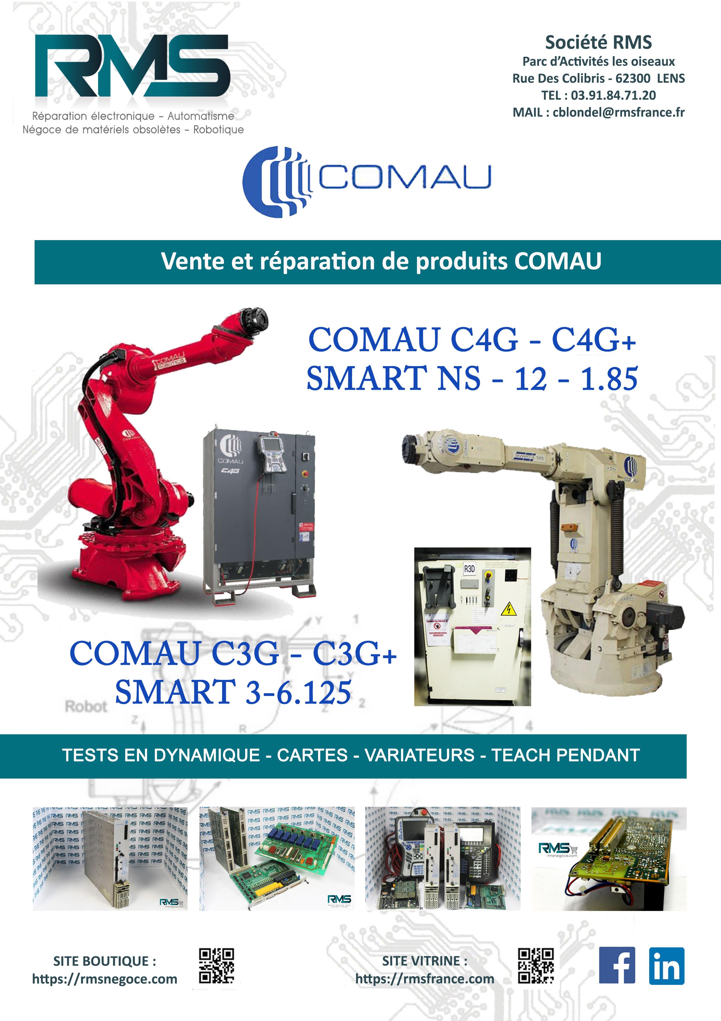 COMAU C3G - COMAU CG3 - RMS NEGOCE