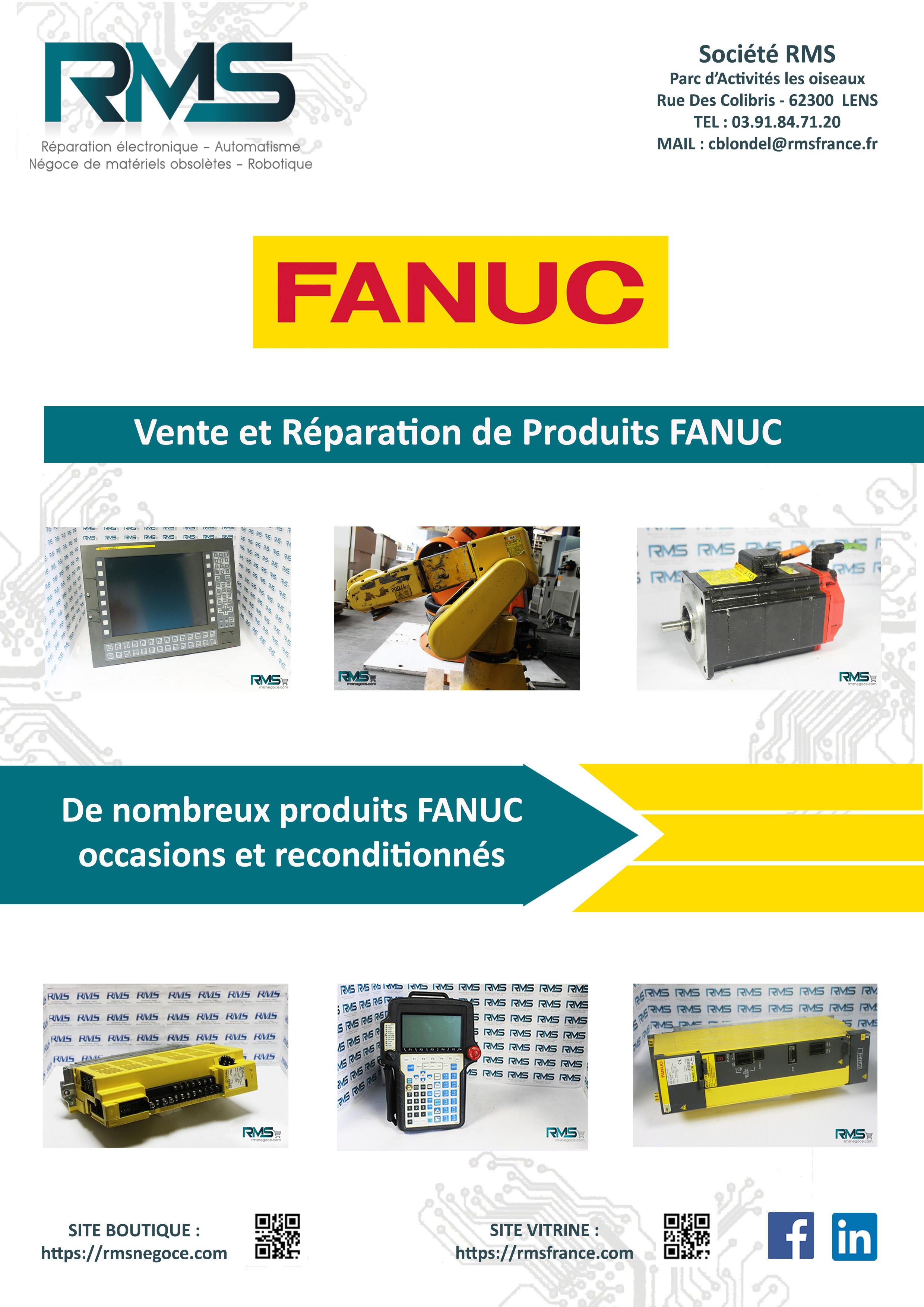 FANUC-ALIMENTATIONS FANUC-VARIATEUR FANUC - RMSNEGOCE