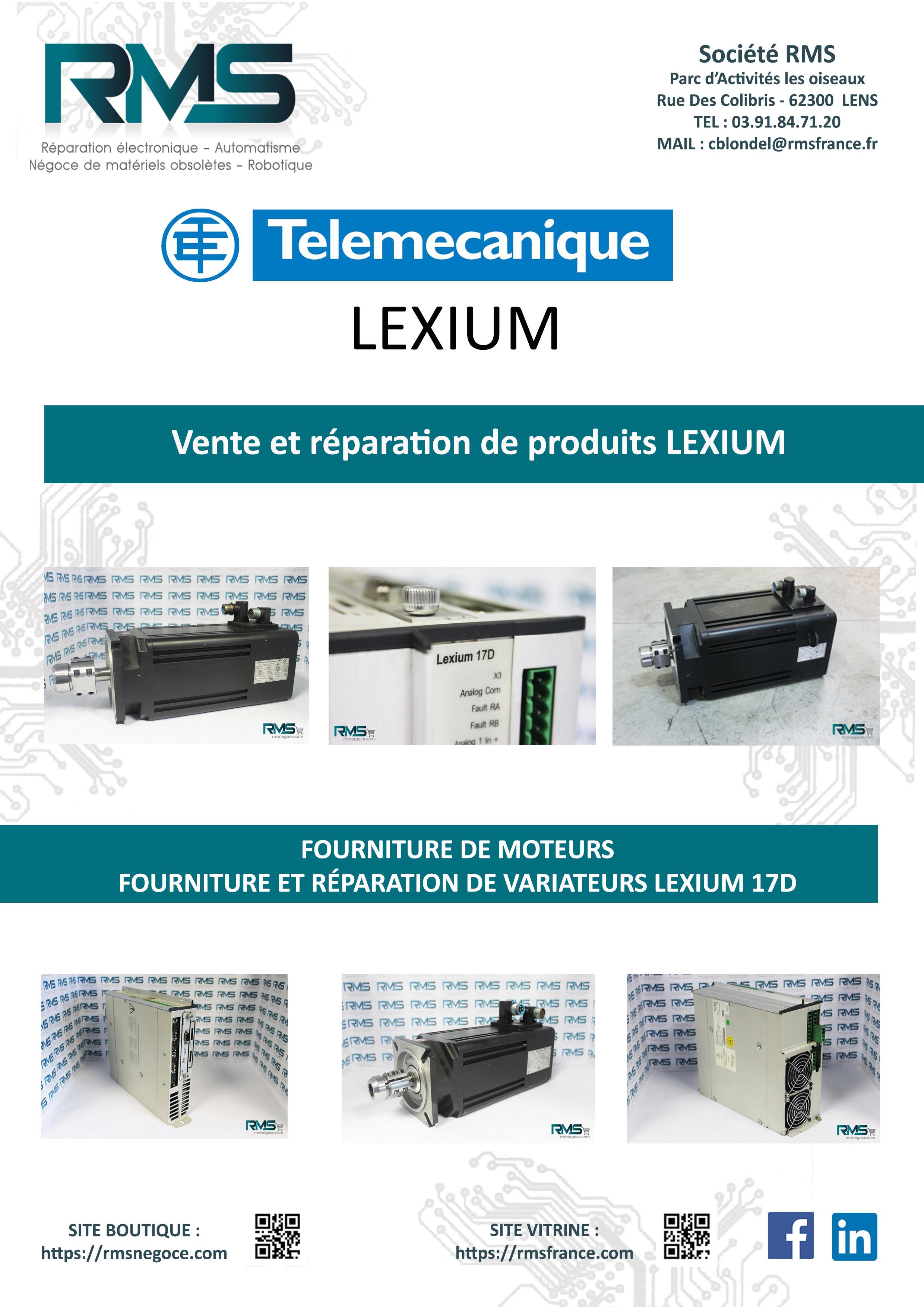 LEXIUM - TELEMECANIQUE LEXIUM - MHDA - LEXIUM 17D