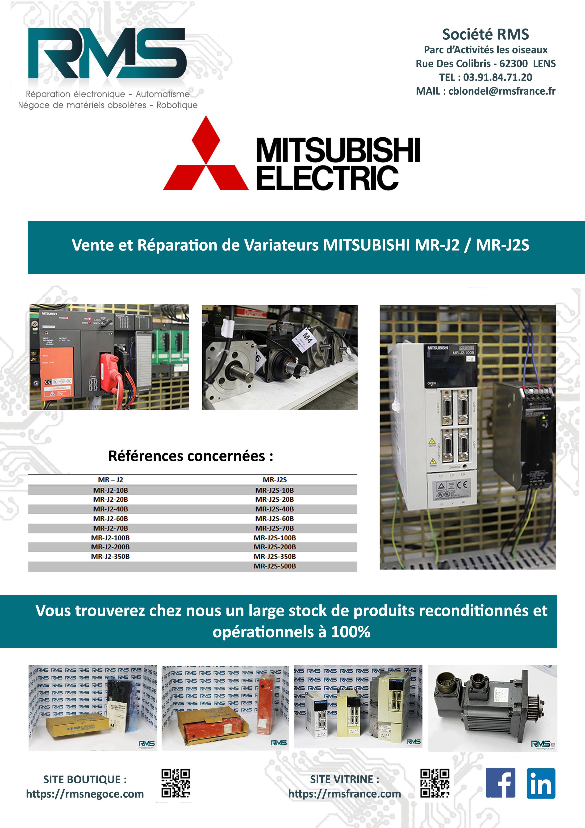 MITSUBSHI - VARIATEUR MITSUBOSHI - MRJ - MRJ2S - RMSNEGOCE