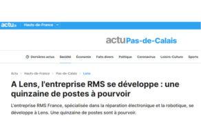 Actu Pas-de-Calais parle de nous
